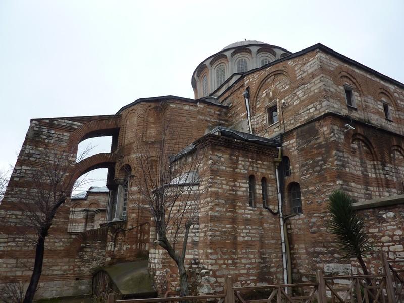 Dolmabahçe – Remparts – St Sauveur