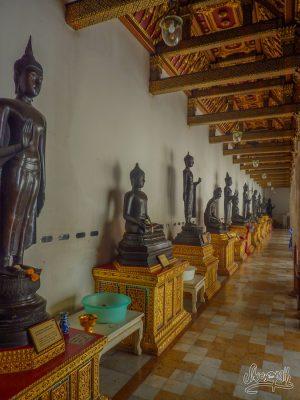 La gallerie des Buddha