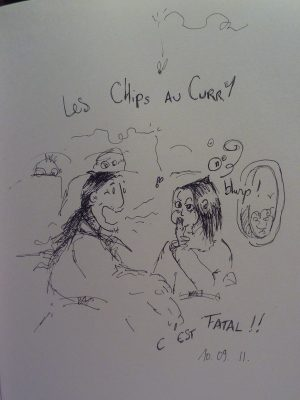 Les Chipes à L'ail...