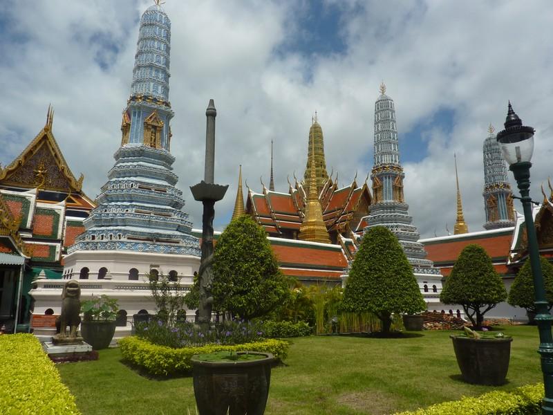 Grand Palais, Le Wat Pho Et Le Wat Arun
