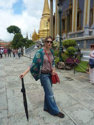 Une jolie touriste !
