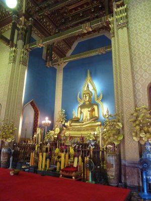 La Statue à L'intérieur Du Temple De Marbre