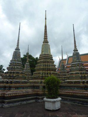 Des Petits Chedi Au Wat Pho
