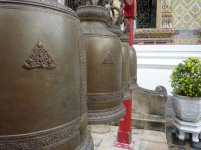 Des Cloches En Bas De Wat Arun
