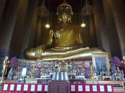 Le Buddha Collosal Du Wat Kanlayanamit