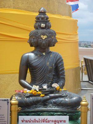 Et Le Buddha Aux Multiples Visages.
