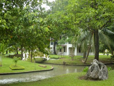 Les jardins de Vimanmek