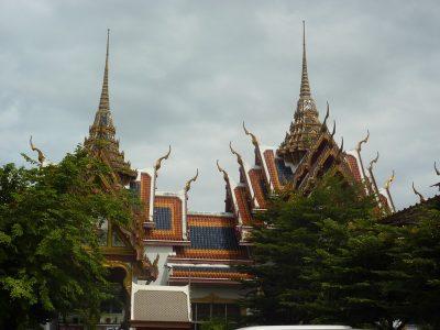 Les Toits Autour Du Wat Yannawa
