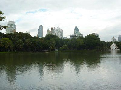Le lac du parc Suan Lumphini