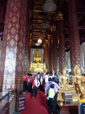 Dans Le Wat Na Phra Mane