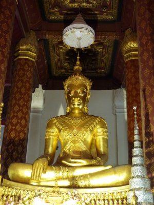 Le Grand Bouddah De Wat Na Phra Mane