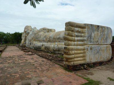 Le Bouddha Couché Du Wat Lokayasutharam