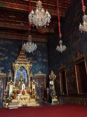 L'intérieur du Wat Ratchapradit