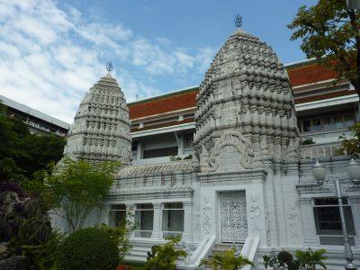 L'extérieur Du Wat Ratchabophit