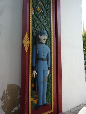 Les Portes Du Wat Ratchabophit
