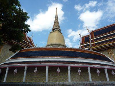 Le Cloitre Circulaire Du Wat Ratchabophit
