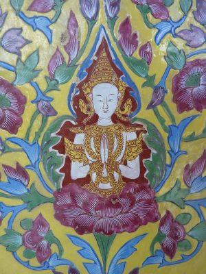 Détail Du Wat Ratchabophit
