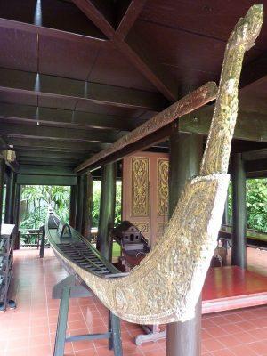 La Barge Royale Exposée Au Suan Pakkad Palace