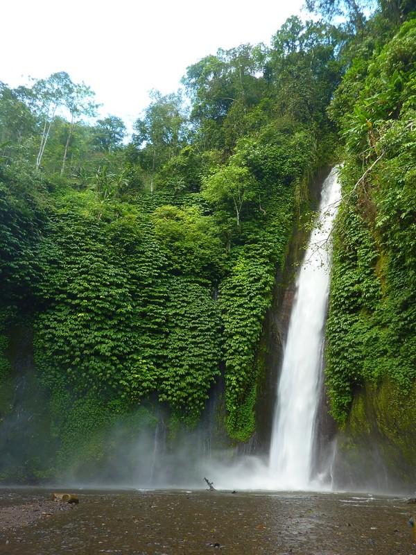 La Cascade Melanting Waterfalls