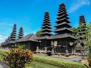 L'enceinte centrale du Taman Ayun, ancien temple royal de Bali