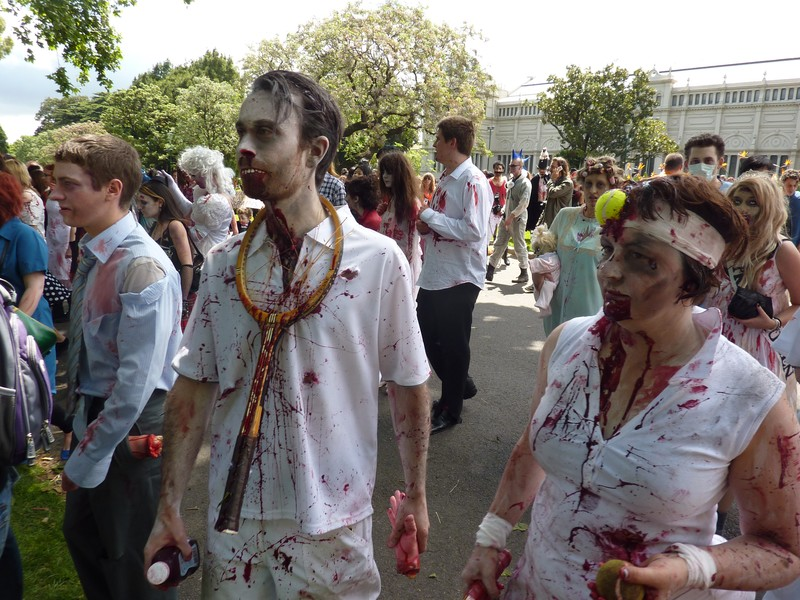 Zombies Attack On Melbourne