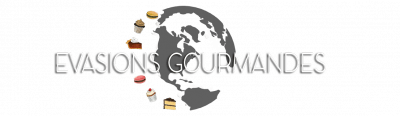 Evasions gourmandes - Logo