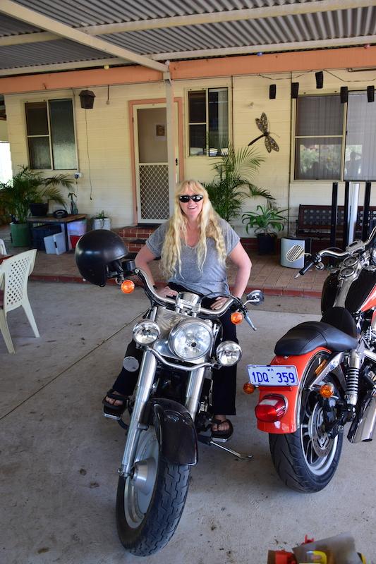 Wendy Sur Sa Harley