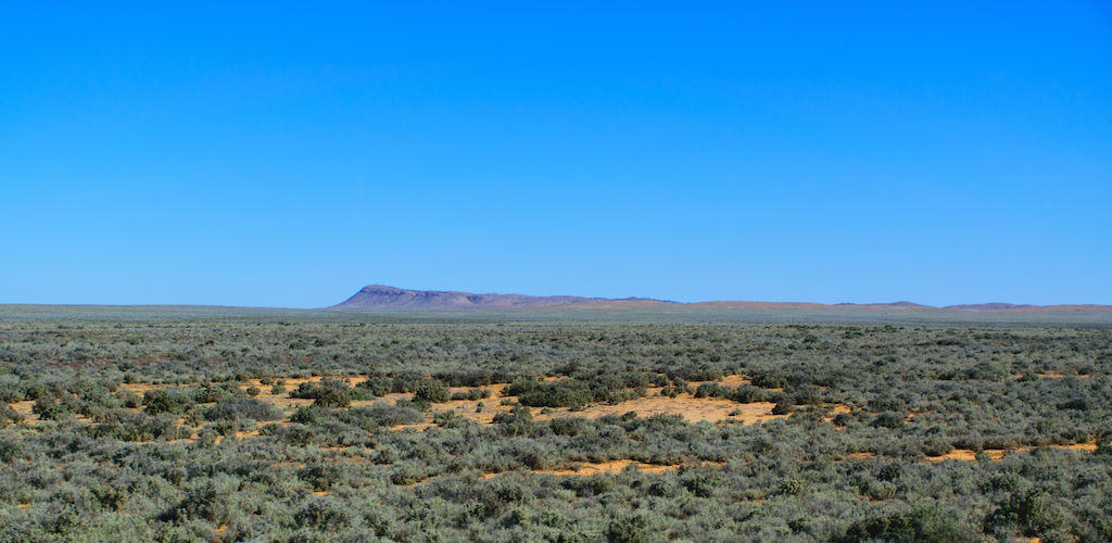 Entre Peterborough et Broken Hill