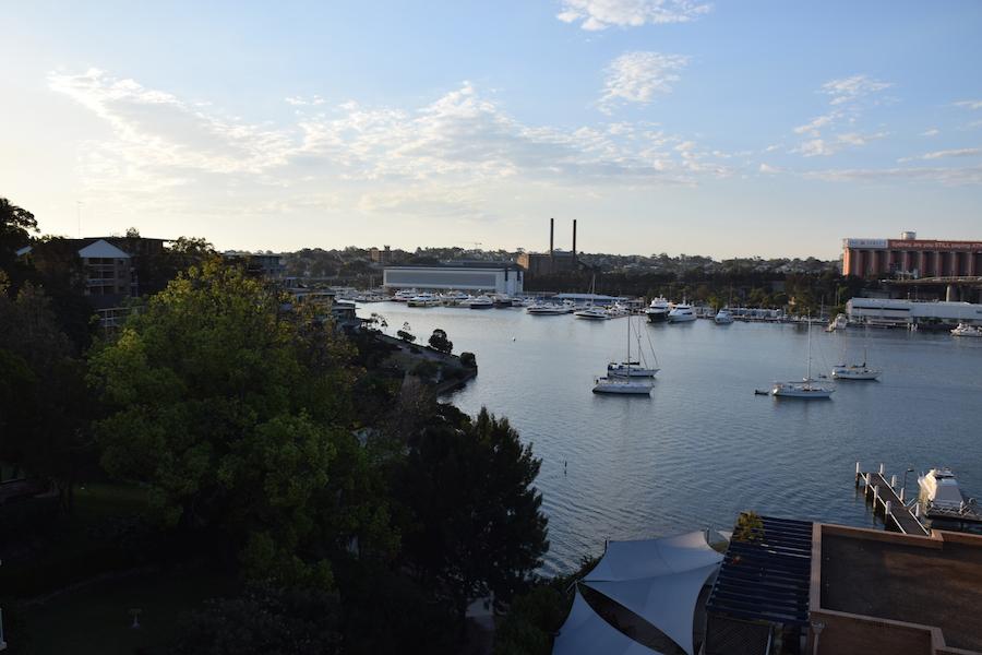 La vue depuis le balcon de Stephen