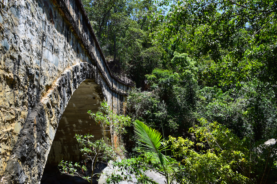 Le pont de Little Crystal Creek, Paluma National Park