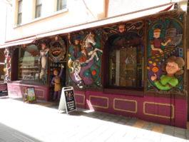 Une confiserie à Adelaide (Photo par Mariette)