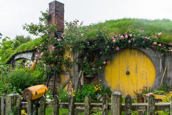Le Trou De Hobbit De Sam Et Rosie