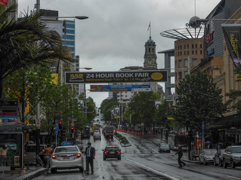 Bienvenue à Auckland !