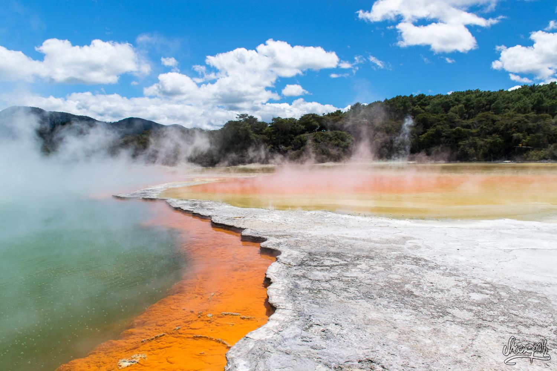 Rotorua, Wai-O-Tapu Et Les Merveilles Volcaniques