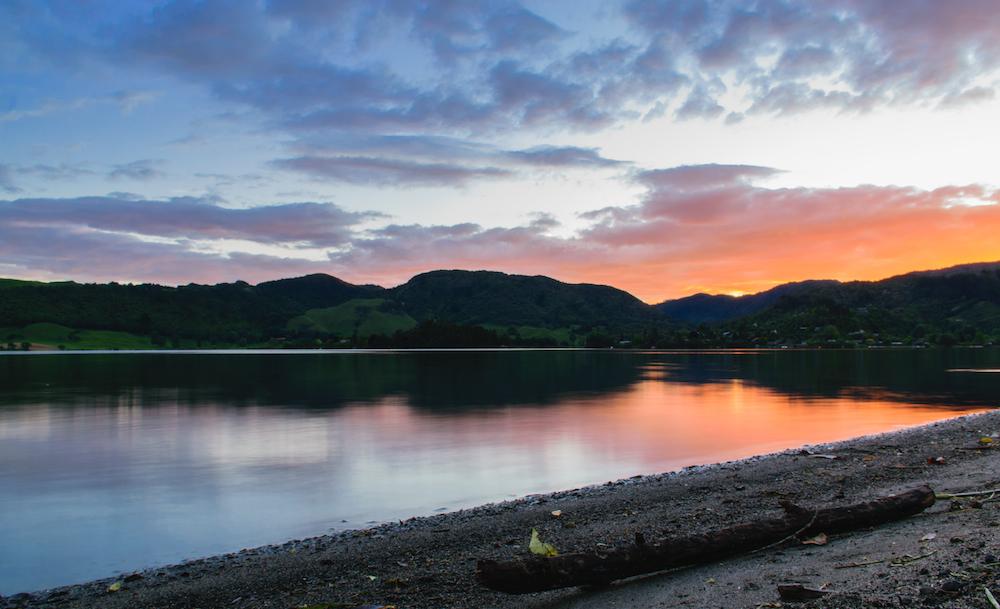 Lake Okareka - Cadeau de Dame Nature pour l'anniversaire de Quentin !