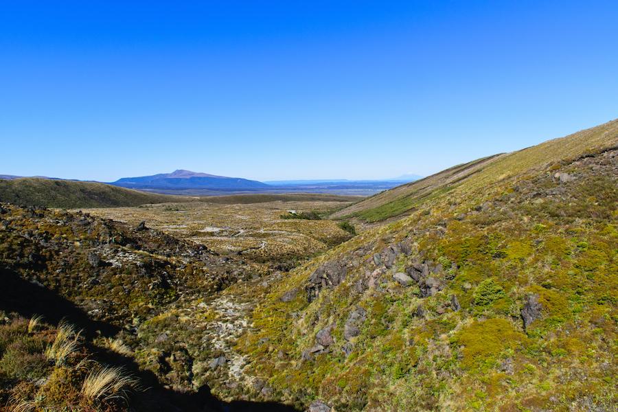 La grande vallée au départ du trek