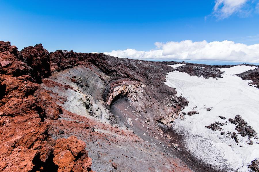 Le cratère du Mt Ngauruhoe, la Montagne du Destin