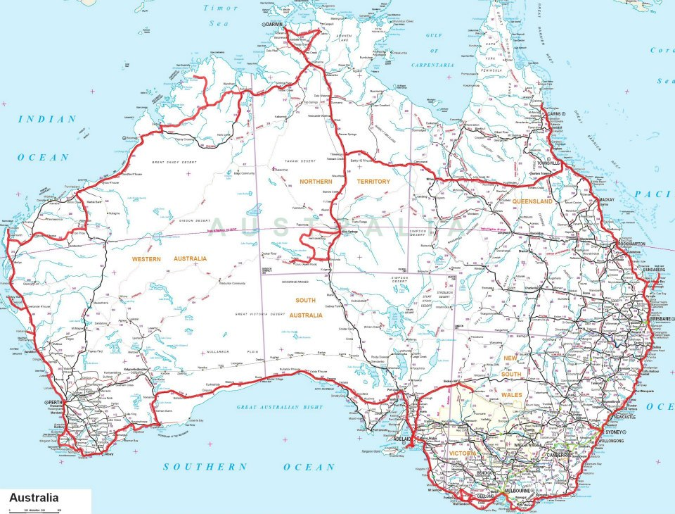 Préparer Son Road Trip En Australie