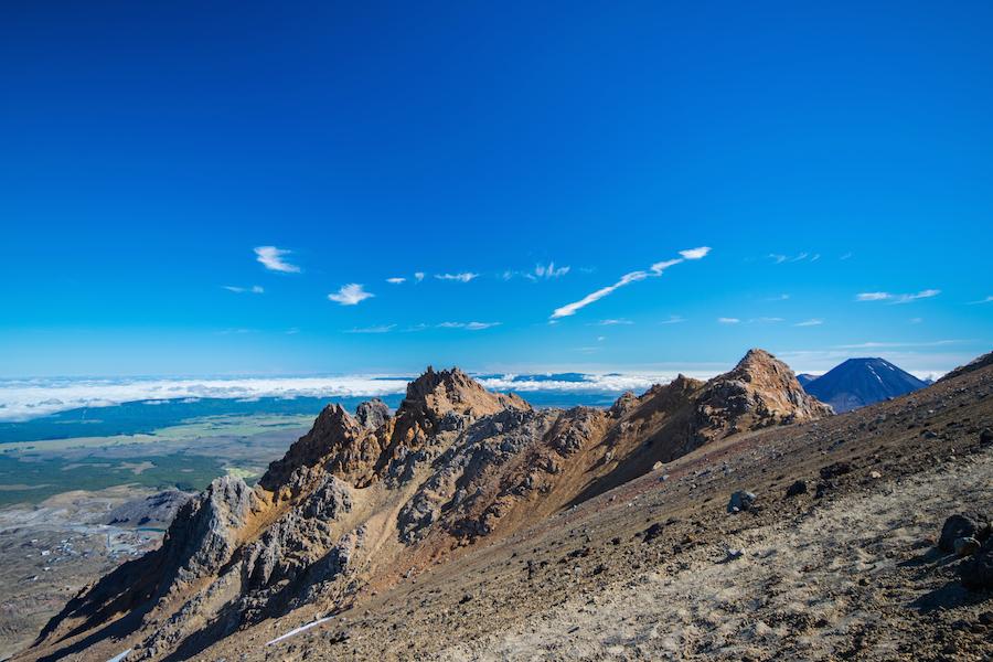 Sur les champs de Sky de Whakapapa. Là ou à été tourné la bataille avec Sauron, lorqu'Isildur lui coupe son doigt