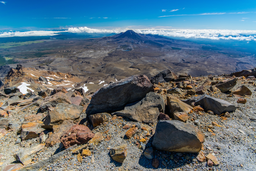 Le Mordor et la Montagne du Destin !!! Le Mt Ngauruhoe que l'on a escaladé il y a peu