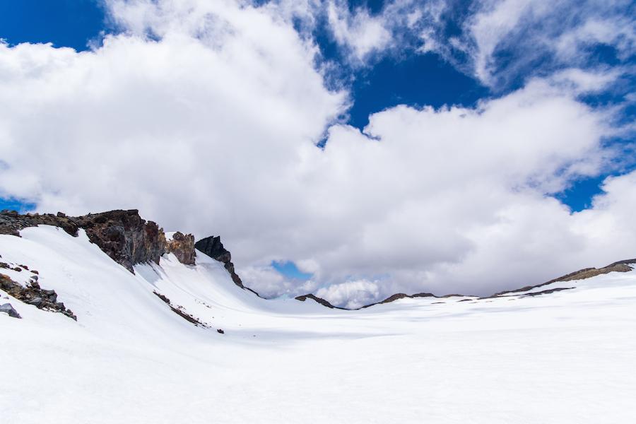 Sur le plateau du Mt Ruapehu