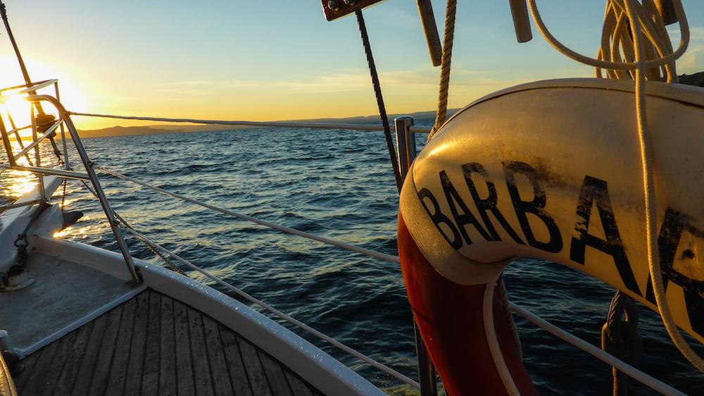 La fin d'après midi sur le lac (Photo par Mariette)
