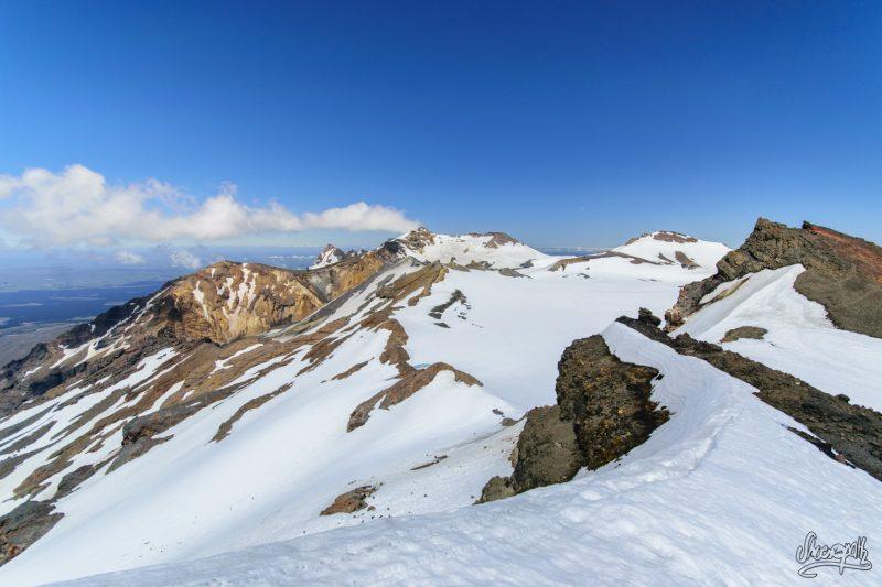 Le Sommet Et Le Plateau Du Mont Ruapehu, Vus Depuis Te Heuheu Peak, 2755m
