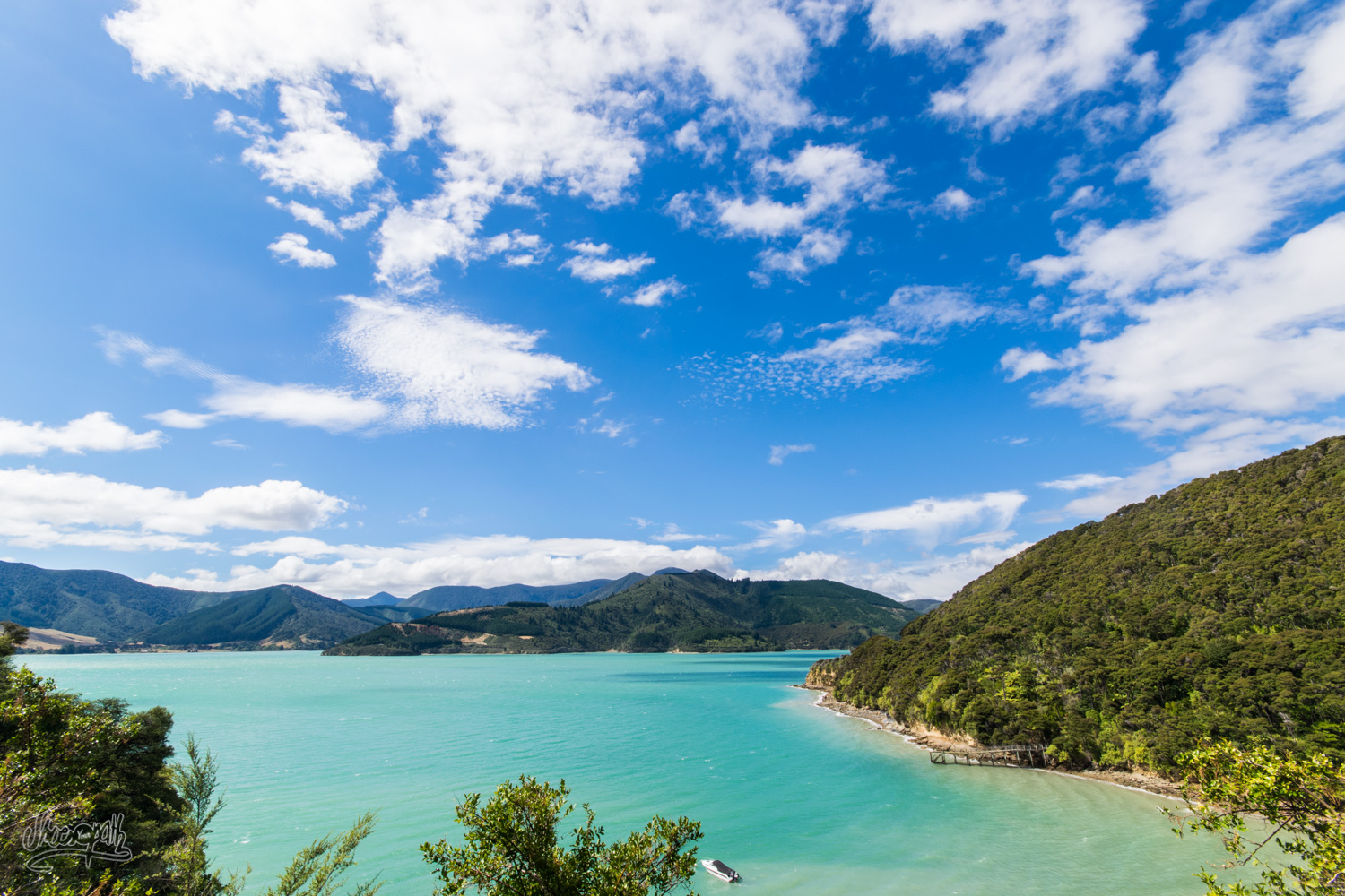 Les Marlborough Sounds, Petit Coin De Paradis Tranquille