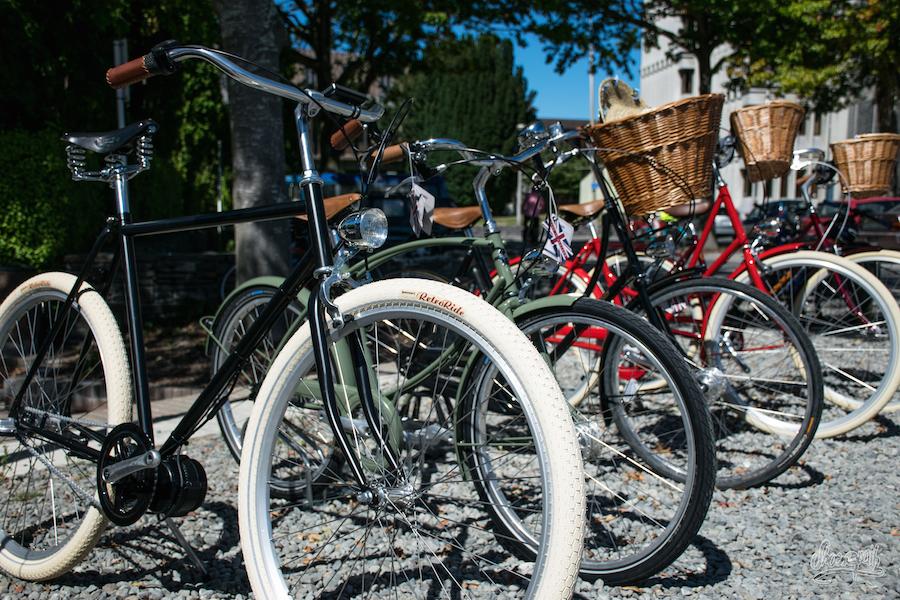 Parking à Vélo De Hipsters