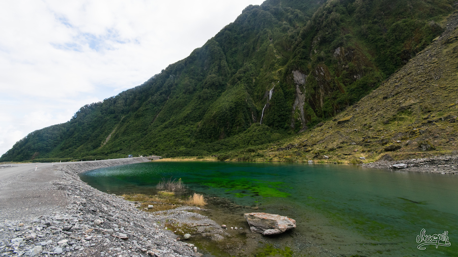 Le lac aux couleurs vertes