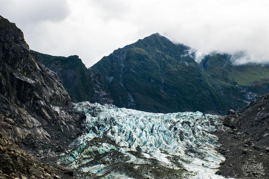 Détail de glacier...