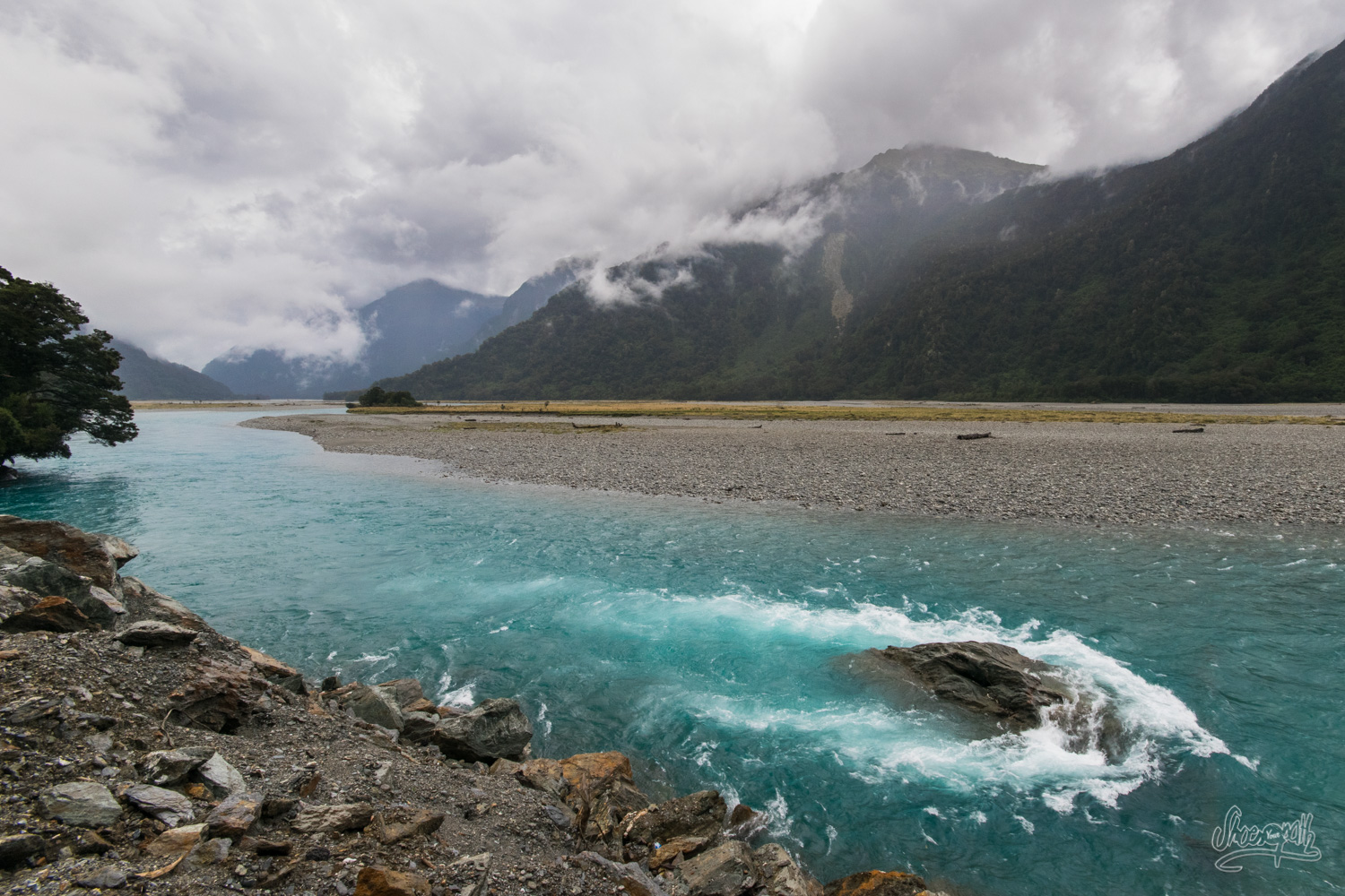 Pretty view somewhere after Haast
