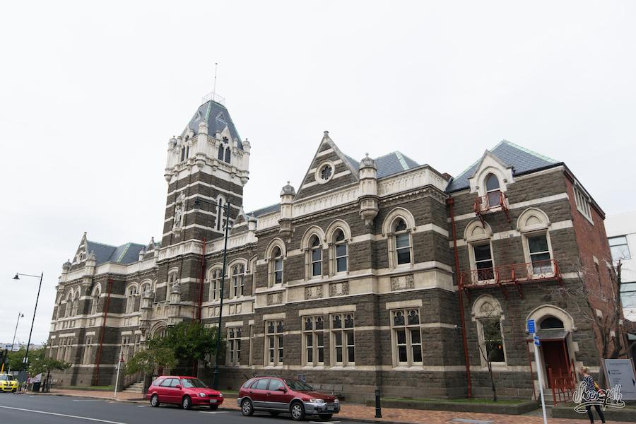 Les vieux bâtiments de Dunedin