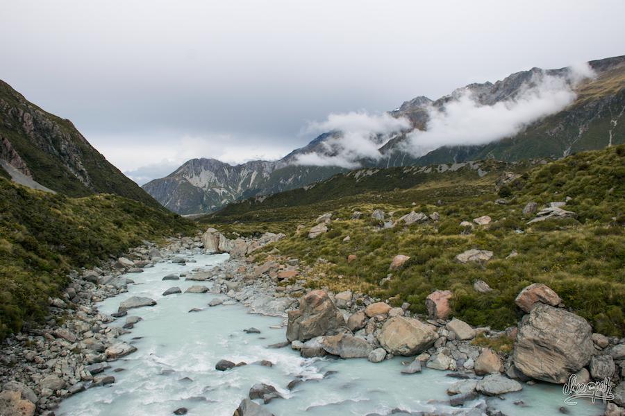 La Rivière Au Fond De La Hooker Valley